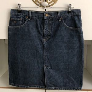 Marc Jacobs.  jean skirt 10